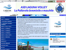 Tablet Preview of lagunavolley.it